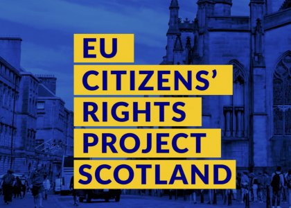 EU citizens' rights project scotland
