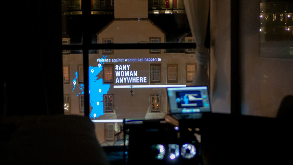 Projection Mapping Edinburgh